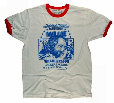 Willie NelsonMen's Retro T-Shirt