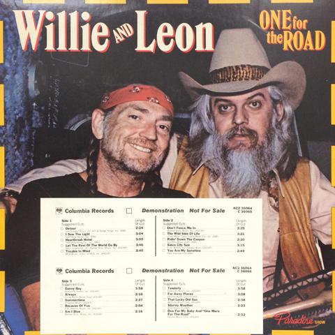 """Willie Nelson Vinyl 12"""" (Used)"""