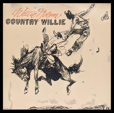 Willie Nelson Vinyl (Used)