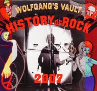 Wolfgang's Vault History of Rock Wall Calendar