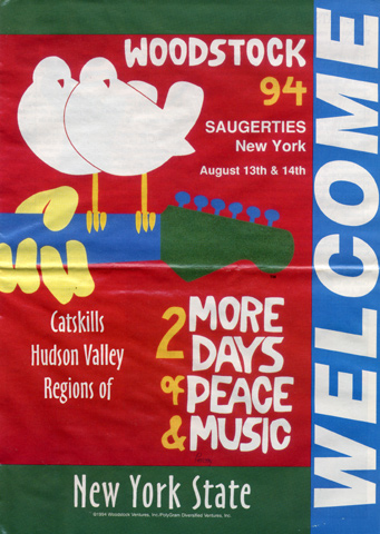 Woodstock '94 Program