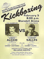 World Heavyweight Kickboxing Championship Poster