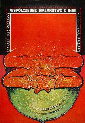 Wspolczesne Malarstwo Z Indii Poster