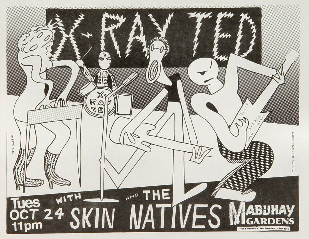 X-Ray TedHandbill