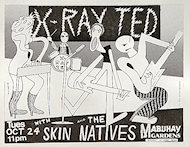 X-Ray Ted Handbill