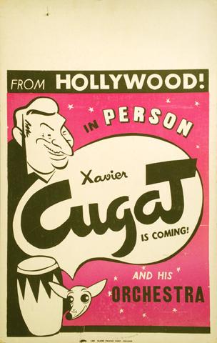 Xavier Cugat Poster