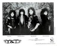 Y&T Promo Print