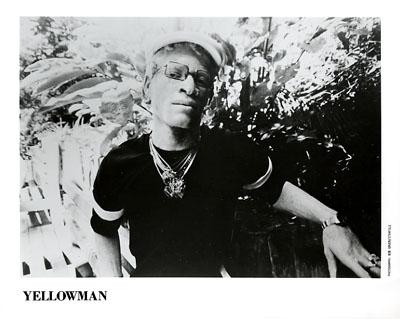 Yellowman Promo Print