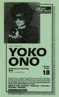 Yoko Ono Handbill