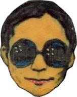 Yoko Ono Pin
