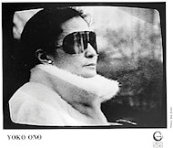 Yoko Ono Promo Print