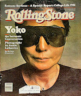 Yoko Ono Rolling Stone Magazine