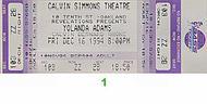 Yolanda Adams 1990s Ticket