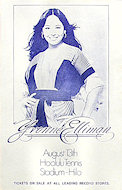 Yvonne Elliman Handbill