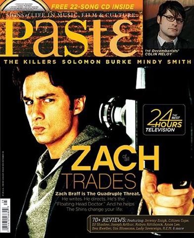 Zach BraffPaste Magazine