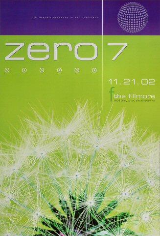 Zero 7 Poster