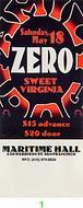Zero 1990s Ticket