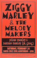 Ziggy Marley &amp; the Melody Makers Poster