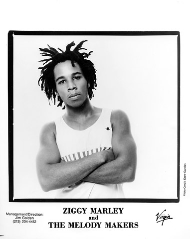 Ziggy Marley & the Melody MakersPromo Print