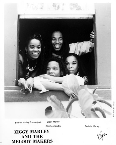 Ziggy Marley & the Melody Makers Promo Print