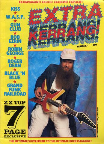 ZZ Top Magazine