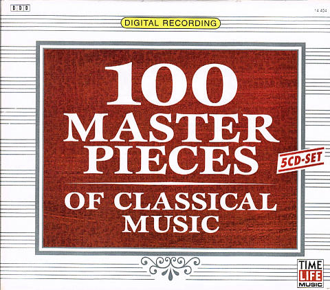 100 Master Pieces of Classical Music CD