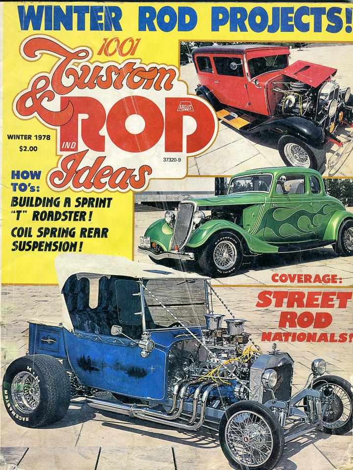 1001 Custom & Rod Ideas: Winter Issue Magazine, 1978 at Wolfgang\'s