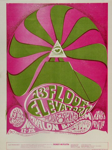 13th Floor Elevators Handbill