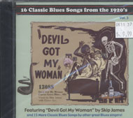 16 Classic Blues Songs from the 1920's, Volume 3 CD