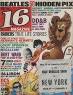 16 Magazine September 1966 Magazine