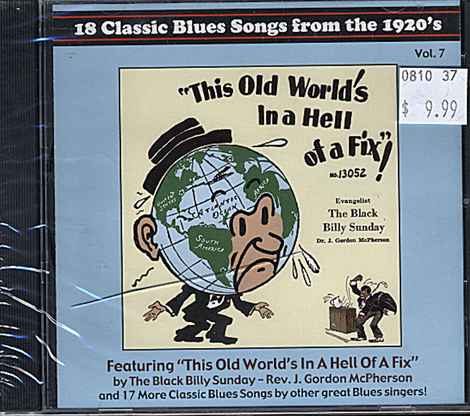 18 Classic Blues Songs from the 1920's Vol. 7 CD