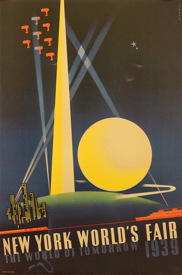 1939 New York World's Fair: The World of Tomorrow Poster