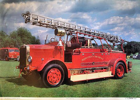 1940 Leyland Cub Poster
