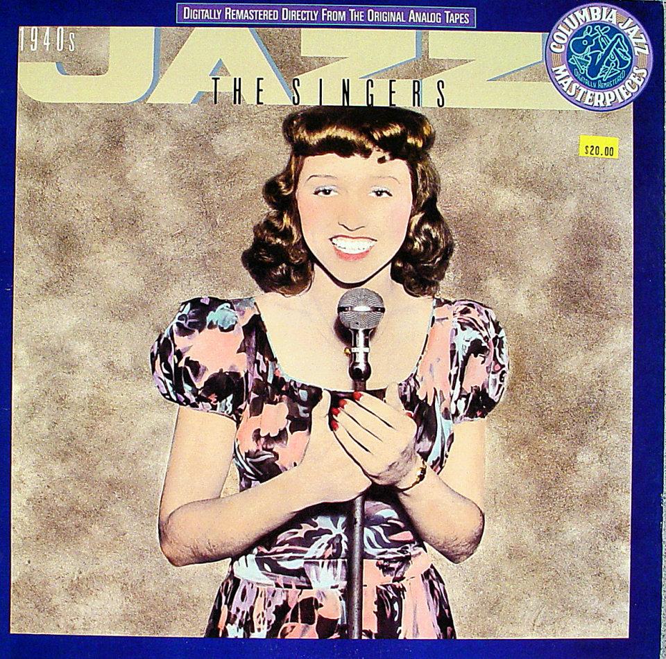 """1940's Jazz The Singers Vinyl 12"""" (Used)"""