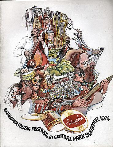 1974 Schaefer Music Festival Program