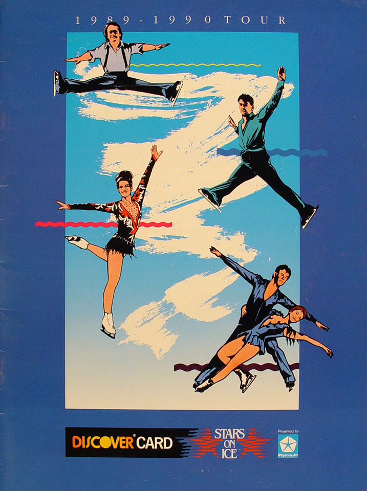 1989 Stars On Ice Program