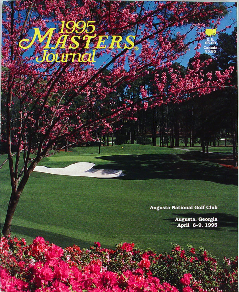 1995 Masters Journal:  A Spectator and Viewer Guide to the 1995 Masters Tournament Program