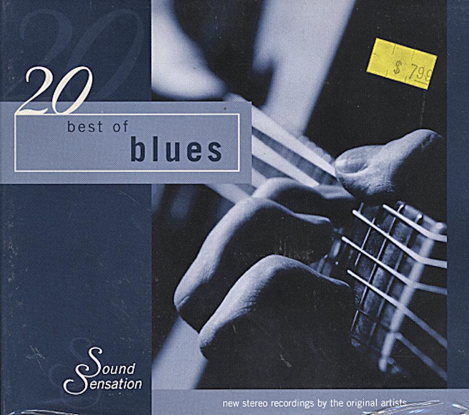 20 Best Of Blues CD