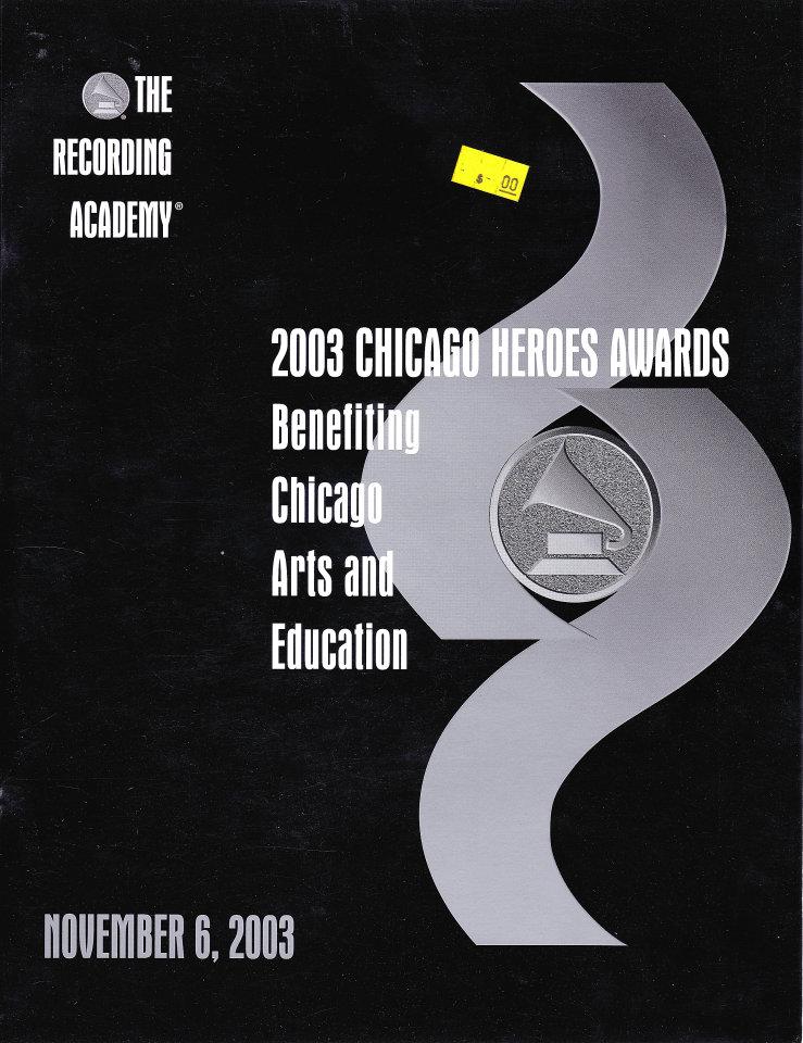 2003 Chicago Heroes Awards Program