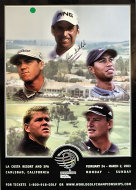2003 World Golf Championship Poster