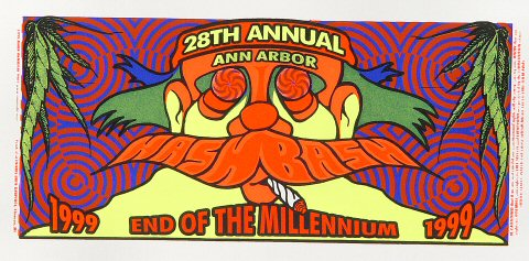 28th Annual Hash Bash Handbill