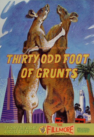 30 Odd Foot of Grunts Poster