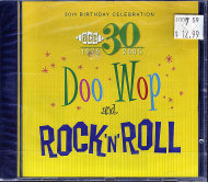 30th Birthday Celebration - Doo Wop And Rock 'N' Roll CD