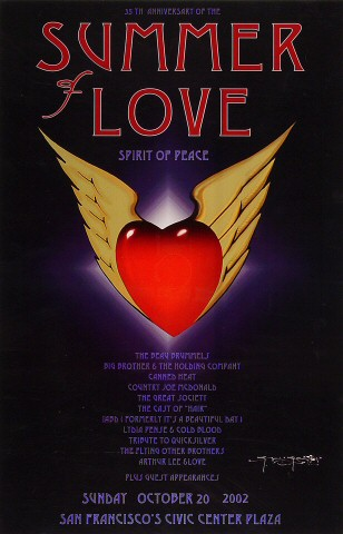 35th Anniversary of the Summer of Love Poster