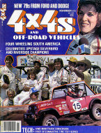 4 x 4's And Off- Road Vehicles Vol. 3 No. 10 Magazine