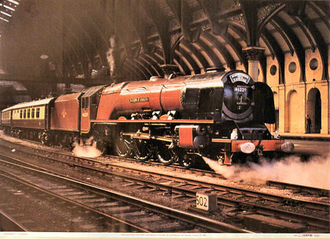 46229 Duchess of Hamilton Poster