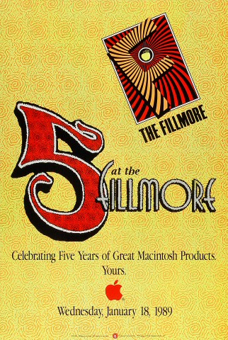 5 at the Fillmore Poster