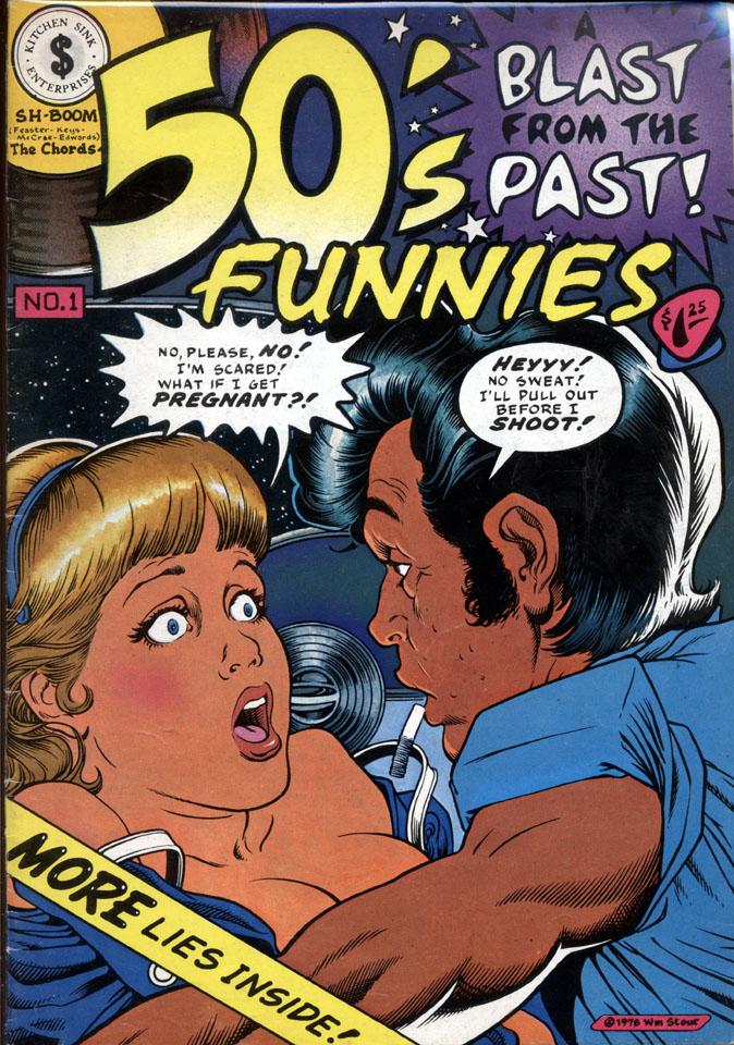 50's Funnies No. 1 Comic Book