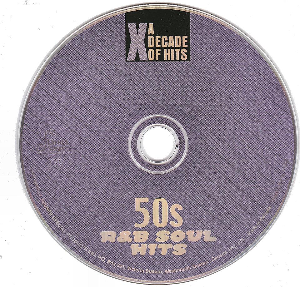 50s R&B Soul Hits CD