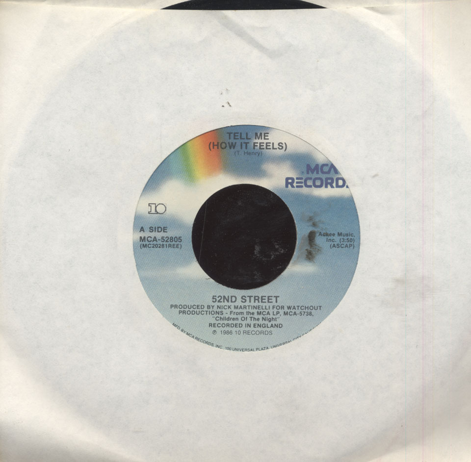 "52nd Street Vinyl 7"" (Used)"